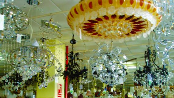Merkalámparas, 40 años de luz en Huelva