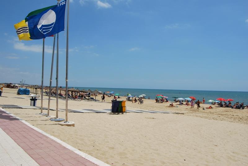 Playa de Isla Cristina.