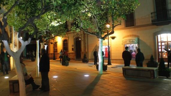 Inaugurada la emblemática plaza de Nuestro Padre Jesús de La Palma