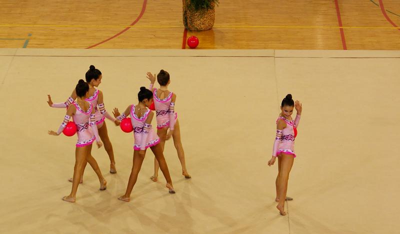 Huelva capital de la gimnasia rítmica andaluza los días 8 y 9 de junio.