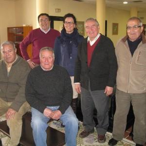 Nueva Junta del Hogar del Pensionista con la concejal Rocío Teba.