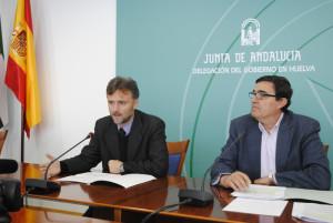 José Fiscal y Vicente Zarza en rueda de prensa.