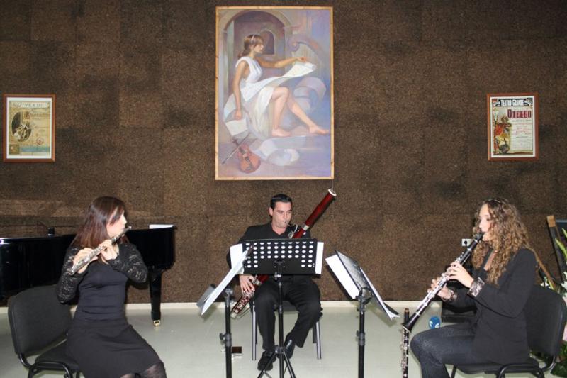 Estudiantes del Conservatorio de Bollullos.