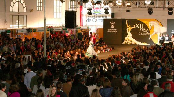 Éxito de público en la XII Feria del Caballo de Cartaya