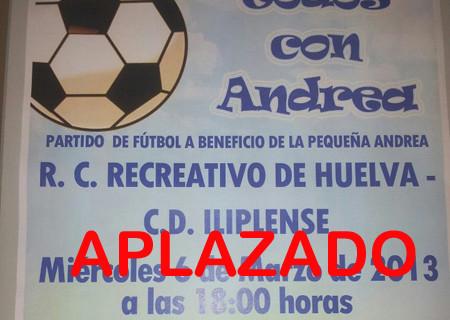 Aplazado hasta el miércoles 13 el partido amistoso benéfico que iba a jugar el Recre en Niebla