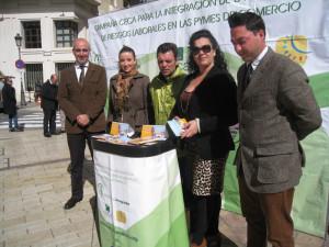 El stand ha estado instalado en el centro de Huelva.