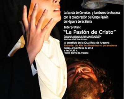 Concierto solidario de cornetas y tambores en el teatro de Aracena