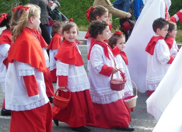 desfile niñosss