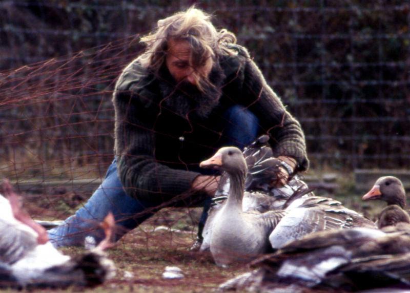 Para marzo, está prevista la visita de Luis García, 'El Anillador', un personaje muy carismático de Doñana.