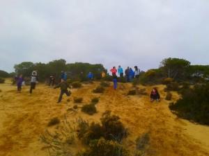 Los niños conocen desde otro punto de vista Doñana.