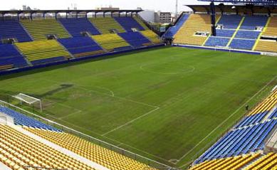 Empate en el único partido que jugó el Recre con el Villarreal en su campo en Segunda División