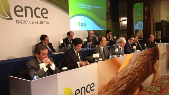 La junta general de accionistas de Ence aprueba un dividendo equivalente a un 7%
