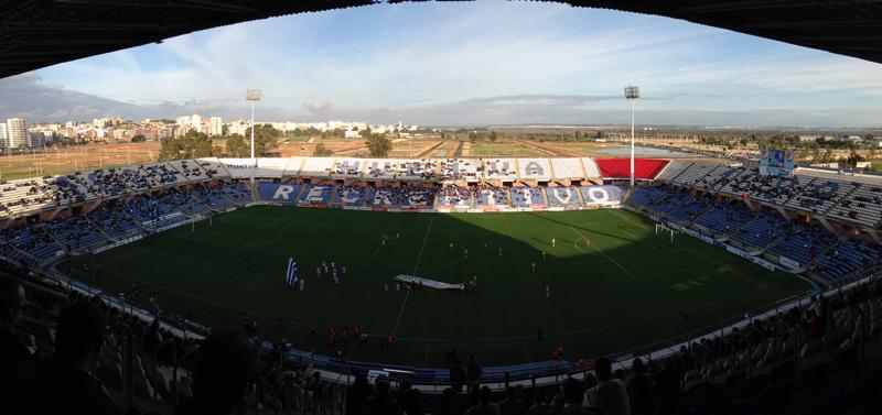 El estadio onubense, premiado por las aficiones visitantes. / Foto: P. G.