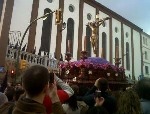 El Santísimo Cristo de la Sangre de la Hermandad de los Estudiantes. / Foto: http://www.losestudianteshuelva.es