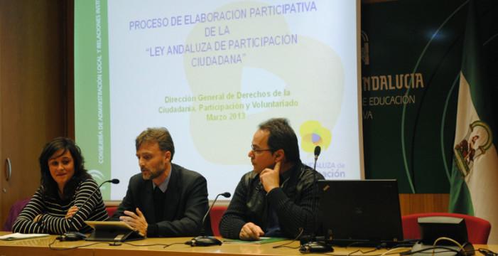 Casi 400 personas de 80 asociaciones onubenses participan en el encuentro de aportaciones a la Ley Andaluza de Participación Ciudadana
