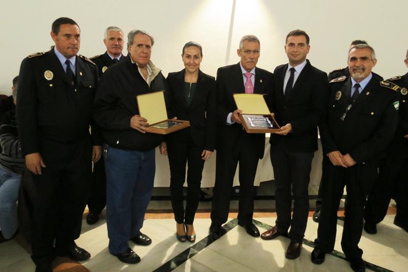 Acto de homenaje de la Policía Local de Moguer.