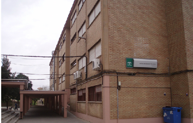 IES Fuentepiña de Huelva. / Foto: juntadeandalucia.es.