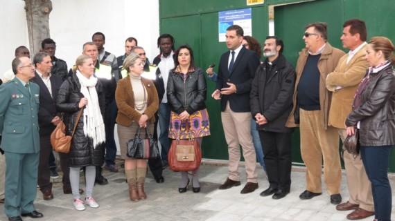 Inaugurado en Moguer un centro de acogida para inmigrantes