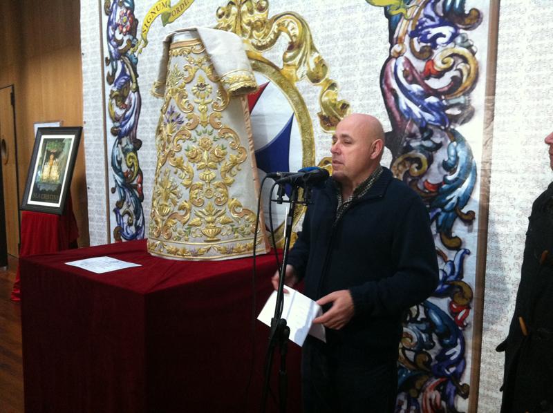 El concejal de Cultura isleño, Emilio Bogarín, inauguró la exposición.