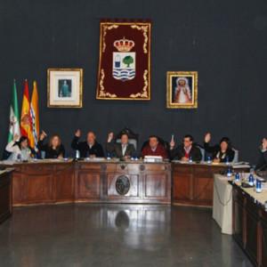 Última sesión plenaria en el Ayuntamiento de Isla Cristina.
