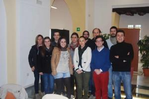 Grupo de la Red de Andalucía, formado por Huelva, Sevilla y Cádiz.