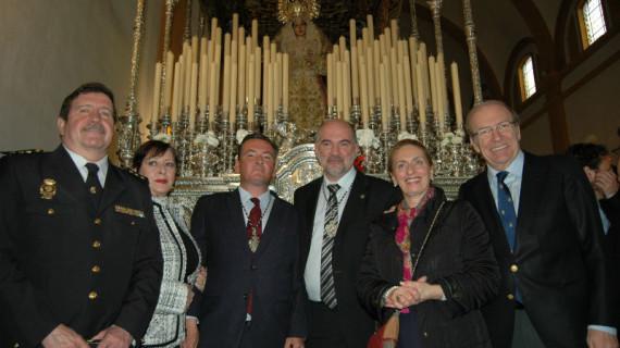 Primera levantá de la Hermandad de la Sangrada Cena de Huelva