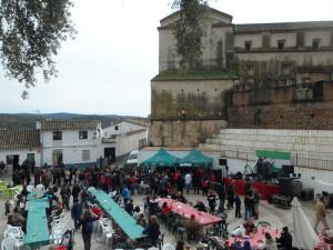Linares de la Sierra disfrutó de un gran cocido. / Foto: Javier Moya