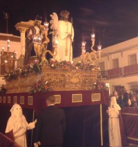 Procesión del Lunes Santo en Moguer.