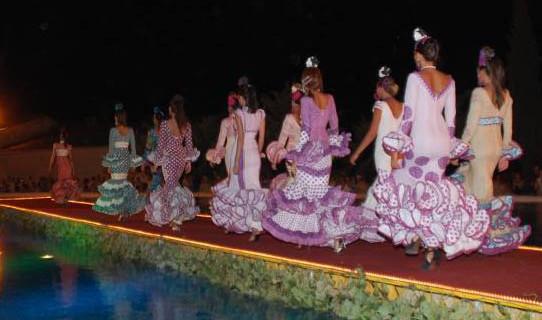 La moda flamenca, apuesta fuerte en la Feria del Caballo de Cartaya
