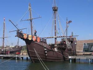 El Muelle de las Carabelas celebra jornadas de puertas abiertas el 3 de agosto.