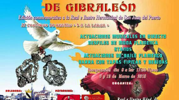 Gibraleón celebra su IV Muestra Rociera, que ha estado dedicada a la Hermandad de San Juan del Puerto