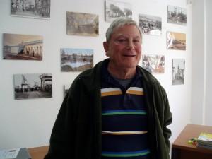Carlos Navarrete, en la redacción de Huelva Buenas Noticias.