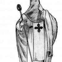 Imagen del diseño original del hábito nazareno.