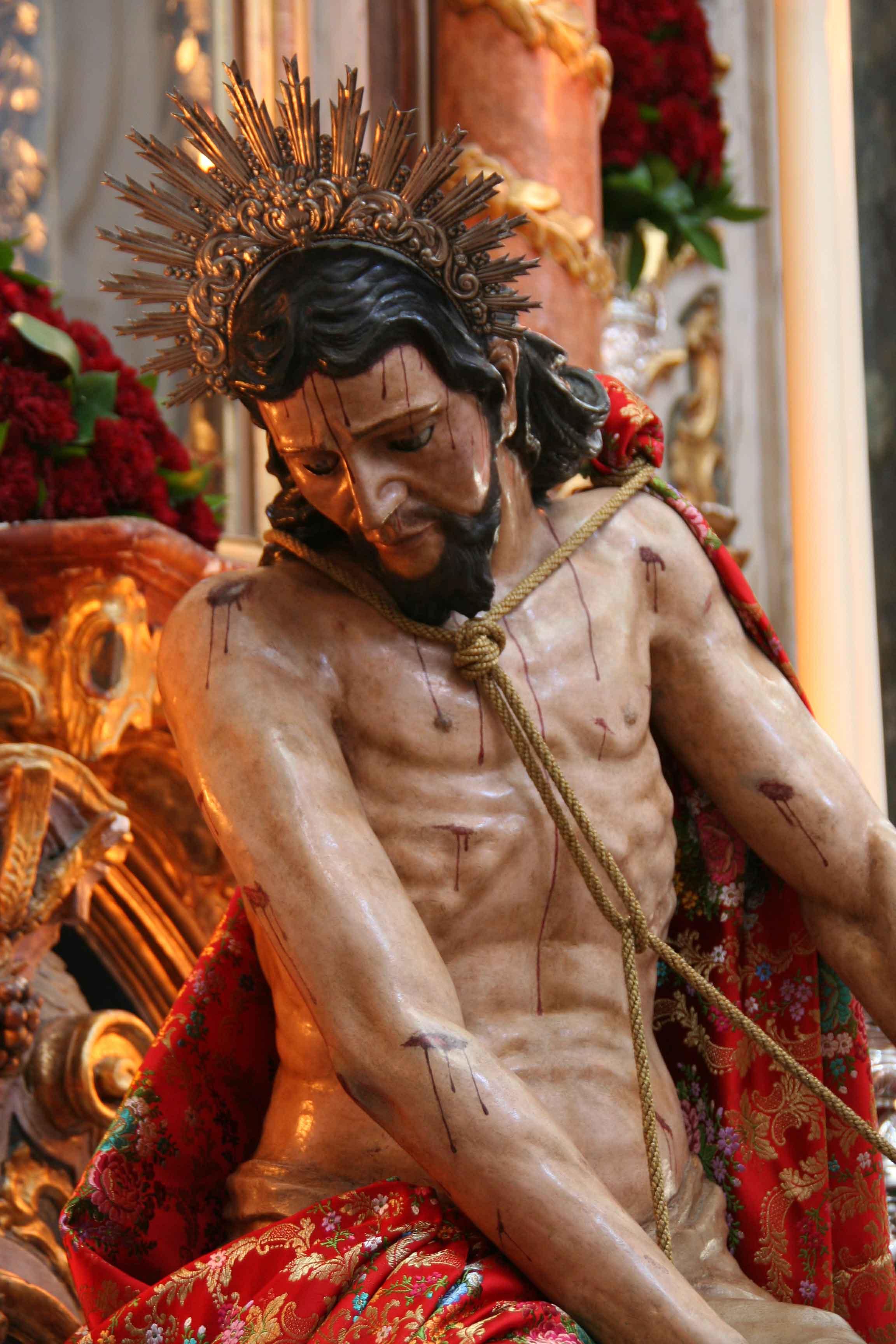 Ntro. Padre Jesús de las Cadenas. / Foto: Hdad. de los Judíos.