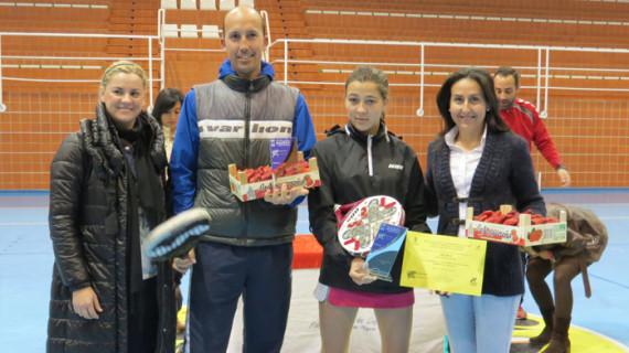 Elena Ramírez y Álvaro García vencieron en el Open 'Padel x la Igualdad' celebrado en Moguer