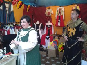 Los trajes, que se pueden alquilar, son muy variados.