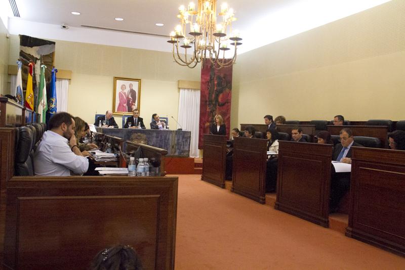 Pleno de marzo de la Diputación Provincial.