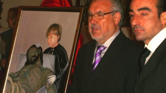 Noche emotiva con la presentación del cartel y el pregón de la Semana Santa 2013 en Aroche