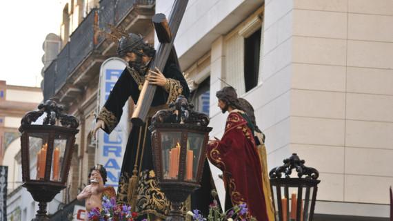 Agustín Cruzado se despide este Domingo de Ramos del cargo de hermano mayor de La Redención después de nueve años en el cargo