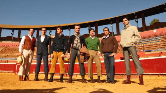 Grandes figuras del toreo se han dado cita en la Merced  junto al ganadero onubense, José Luis Pereda