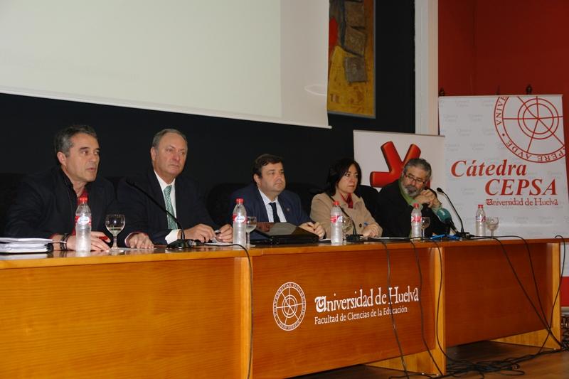 Inauguración del Módulo General de Formación en Competencias del Proyecto 'Alumno 10C'.