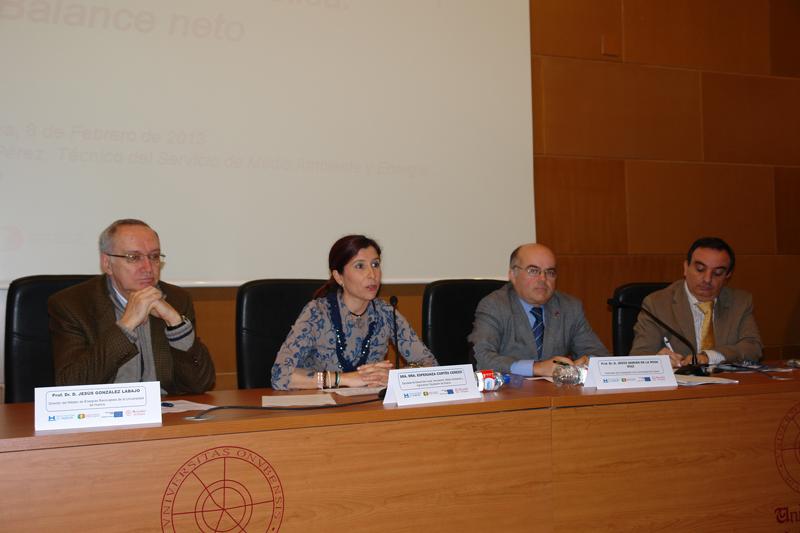 Presentación de las Jornadas en la Facultad de Ciencias Experimentales.