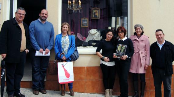 Entregados los premios del I Concurso de Escaparates de Semana Santa de Valverde