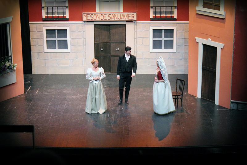 Escena de la zarzuela 'Luisa Fernanda'.
