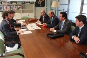 Representantes del PP de Huelva y de la FOE se reunieron en Madrid con el director general de Costas.