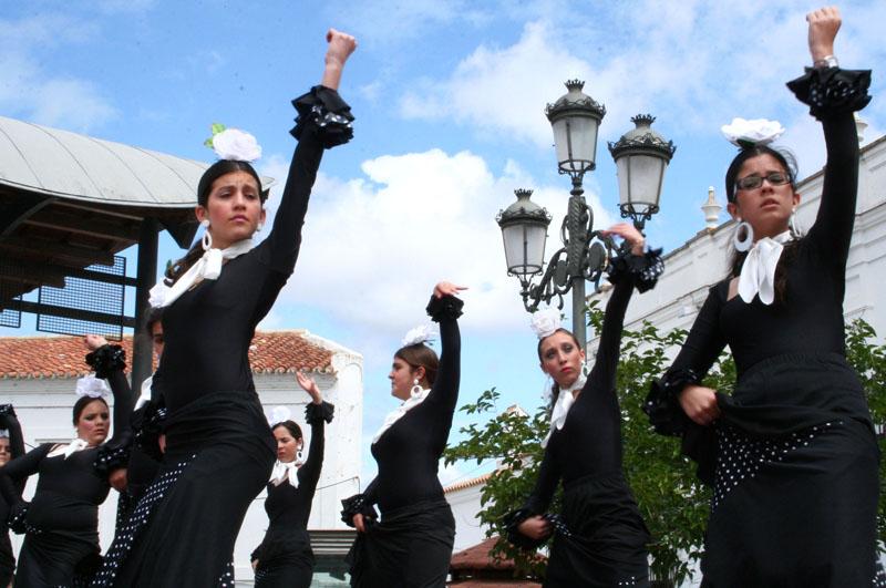 La Plaza Redonda acoge el certamen.