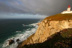 Cabo de Roca, punto mas occidental de Europa y lugar donde la tripulación del Don Diego tuvo un comportamiento heroíco