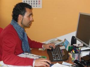 El gerente de Abriendo Puertas, Raul Custodio.