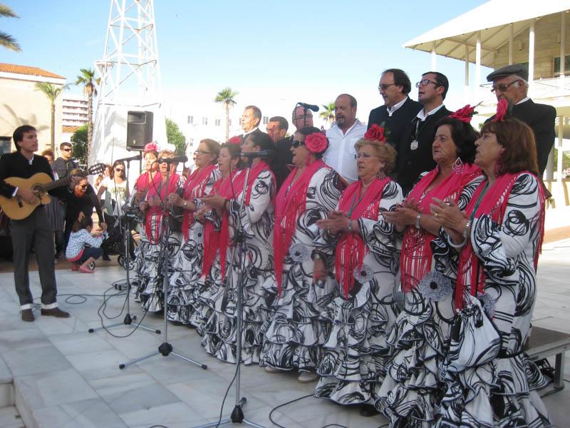 Un de las actuaciones del coro Brisa Marinera.