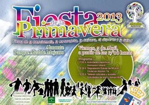 Cartel Fiesta de la Primavera Almonte 2013.